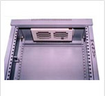 ETSI rack accessory: roof mounted exhaust fan kit with 2 DC/AC fans