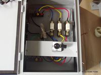 panel for fuses
